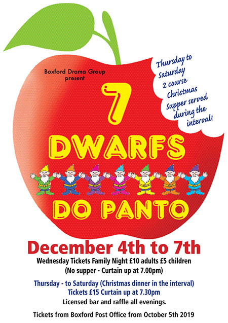 7 Dwarfs Do Panto