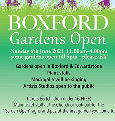 Boxford Open Gardens
